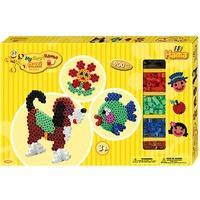 Produktbild HAMA 8712 Geschenkset gelb, 900 maxi-Perlen & Zubehör