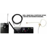 Produktbild AKG WMS 40 Mini Earmic Set ISM 3 Inkl. 3 Meter Profikabel