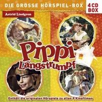 Produktbild Pippi Langstrumpf - Die große Hörspiel-Box