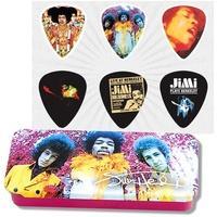 Produktbild JIM DUNLOP Hendrix Collector Are you Experienced Collector Plektren, medium (6 Stück)