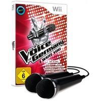Produktbild The Voice of Germany, I want you, 1 Nintendo-Wii-Spiel + 2 Mikrofone