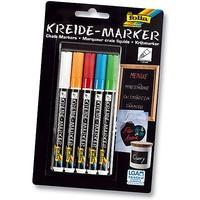 Produktbild Kreidemarker, 5 Farben