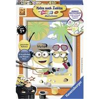 Produktbild Malen nach Zahlen Minions Ich - einfach unverbesserlich 3 Dave und Jerry
