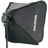 Produktbild Cullmann Softbox-Kit für gleichmäßigen Lichteffekt, 60 x 60 cm Culight SB 6060 Kit schwarz