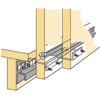 Produktbild Hettich Schiebetürbeschlag STB 12 3-türig Komplett-Set DIN L/R Hettich