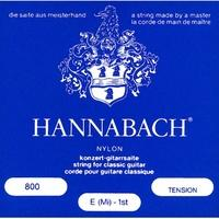 Produktbild HANNABACH 800 HT High Tension E1-E6 E1-E6 Saiten für Konzertgitarre, blau