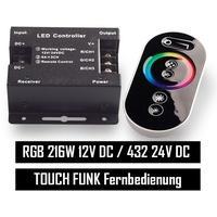 Produktbild RGB LED Controller Touch Funkfernbedienung bis 18A