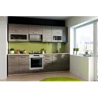 Produktbild Küche BEN 260 cm Küchenzeile / Küchenblock variabel stellbar in Eiche Sonoma Trüffel