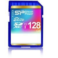 Produktbild Silicon Power SP128GBSDXAU1V10 Elite SDXC Class 10 UHS-I U1 SDXC Speicherkarte, 128 GB, Class 10 / UHS-I
