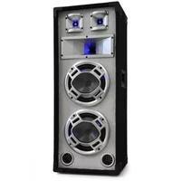 Produktbild Disco PA-Box 2x20cm Passiv-Lautsprecher weiß 600W Lichteffekt
