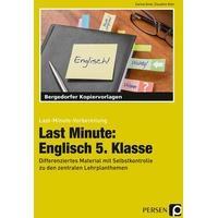 Produktbild Last Minute: Englisch 5. Klasse, 1. Auflage