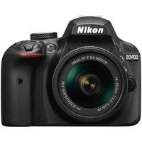Produktbild D3400 Spiegelreflexkamera 24,2MP + AF-P DX 18-55 mm VR Objektiv (Schwarz) (Versandkostenfrei)