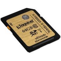 Produktbild Kingston SDX10V/128GB SDXC Class 10 SDXC Speicherkarte, 128 GB, Class 10