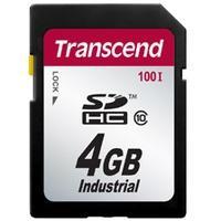 Produktbild Transcend 4GB SDHC, 4 GB, SDHC, Klasse 10, SLC, 17 MB/s, Schwarz