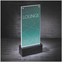 Produktbild Sigel LED Tischaufsteller »luminous DL«, 11.6x25.4x4.6 cm