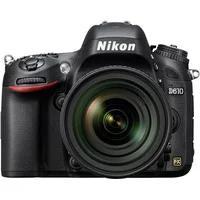 Produktbild Nikon D610 Spiegelreflex Kamera, AF-S 24-85 VR Zoom, 24,3 Megapixel, 8 cm (3,2 Zoll) Display schwarz