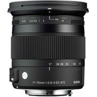 Produktbild Sigma 17 - 70 mm / F 2,8 - 4,0 DC / Macro / OS / HSM für Canon