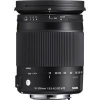 Produktbild Sigma 18-300 mm / F 3,5-6,3 DC MACRO HSM für Sony A-Mount