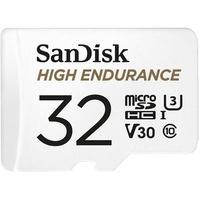 Produktbild High Endurance microSD-Karte mit SD-Adapter, 32 GB, Class 10, U3, V30