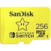 Produktbild SanDisk Extreme Nintendo Switch™ microSDXC-Karte 256GB UHS-I, UHS-Class 3 Geeignet für Nintendo S