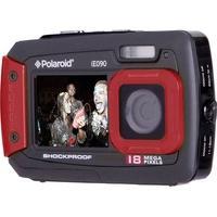 Produktbild Polaroid iE090 Digitalkamera 18 Mio. Pixel Schwarz-Rot Unterwasserkamera, Staubgeschützt, Frontdisp