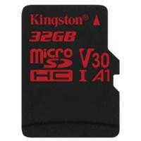 Produktbild Kingston Canvas React 32 GB microSDHC Speicherkarte (80 MB/s, V30, A1, UHS-I)