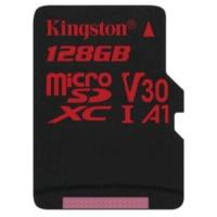 Produktbild Kingston Canvas React 128 GB microSDXC Speicherkarte (80 MB/s, V30, A1, UHS-I)