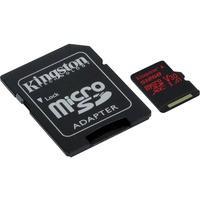 Produktbild Kingston Canvas React 512 GB microSDXC, Speicherkarte, schwarz, Uhs-I (U3), A1, V30