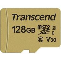 Produktbild Transcend 128GB Premium 500S Micro Class 10 UHS-I, UHS Speed Class 3 (