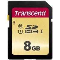 Produktbild Transcend 8GB Premium 500S SDHC Speicherkarte Class 10, U1, UHS-I (bis