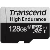 Produktbild Transcend Speicherkarte 350V 128 GB microSDXC, UHS-I U1, Class 10