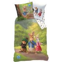 Produktbild CTI Wende- Kinderbettwäsche Peter Hase Forest, 135 x 200 cm mehrfarbig