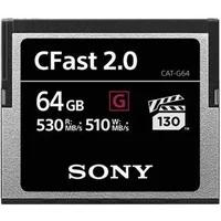 Produktbild Sony G-Series Cat-G64-R - Flash-Speicherkarte - 64 GB - CFast 2.0
