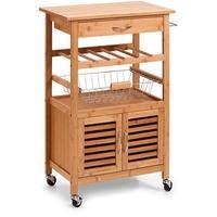 Produktbild Zeller Küchenrollwagen, Bamboo