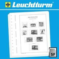 Produktbild LEUCHTTURM Blankoblätter für franz. Markenheftchen, Journee du Timbre, 186x72 mm, 12er P.