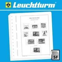 Produktbild LEUCHTTURM Blankoblätter für französische Markenheftchen, Croix rouge, 2 Taschen,12er Pack