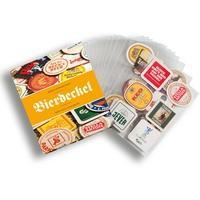 Produktbild GRANDE-Komplettalbum für Bierdeckel inkl.15 transparenten Hüllen für je 6 Bierdeckel