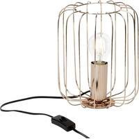 Produktbild Brilliant Flavian 52847/29 Tischlampe LED E27 60W EEK: abhängig v. Leuchtmittel (A++ - E) Kupfer