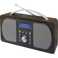 Produktbild SoundMaster DAB+ Kofferradio DAB600DBR DAB+, UKW Dunkelbraun