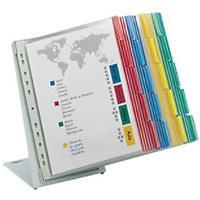 Produktbild DURABLE Tischaufsteller Function DIN A4 Farbig sortiert PVC 27 x 39,5 cm