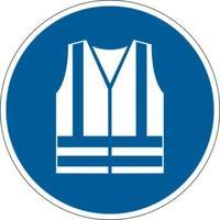 Produktbild Durable Sicherheitskennzeichen ''Warnweste benutzen''