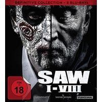 Produktbild SAW I-Viii Definitive Collection (Br) 8er Schuber - Studiocanal 506408 - (Blu-ray Video / Son...