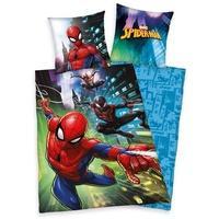 Produktbild Herding Renforcé-Wendebettwäsche Spiderman 135 x 200 cm
