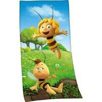 Produktbild Badetuch Biene Maja, Die Biene Maja, mit Biene Maja Motiv gelb 1x 75x150 cm