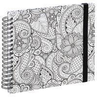 """Produktbild Hama Spiral-Buch """"Colorare"""", 28x24 cm, 50 weiße Seiten weiß"""