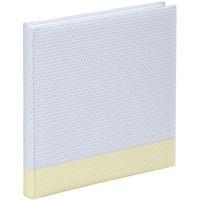 """Produktbild 00002419 Jumbo-Album """"Filigrana"""" 30x30cm 80 weiße Seiten  (Blau, Gelb)"""