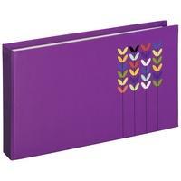 "Produktbild 00002533 Mini-Einsteck-Album ""Blossom"" fr 24 Fotos im Format 10x15cm (Violett)"