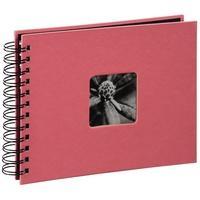 Produktbild 00002555 Spiral-Album ''Fine Art'' 24x17cm 50 schwarze Seiten (Koralle