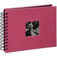 """Produktbild 00002559 Spiral-Album """"Fine Art"""" 24x17cm 50 schwarze Seiten (Pink)"""