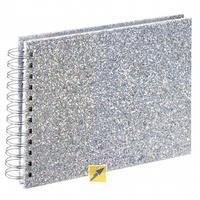 Produktbild Hama Glam Spiral silber 24x17 50 weiße Seiten 2590